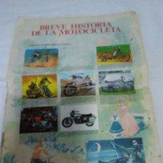 Coleccionismo deportivo: 127-HOJAS SUELTAS ALBUM EL MUNDO DE LAS MOTOS BIMBO 1975 . Lote 134951486