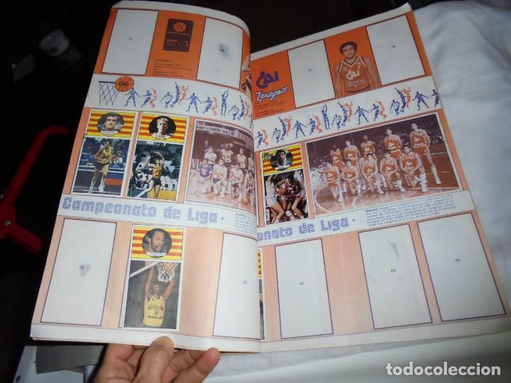 Coleccionismo deportivo: ALBUM CAMPEONATO DE LIGA BALONCESTO 1986-1987 INCOMPLETO FALTAN 112 DE 206 - Foto 3 - 136745494