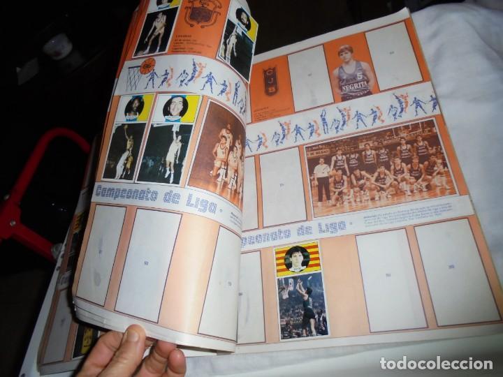 Coleccionismo deportivo: ALBUM CAMPEONATO DE LIGA BALONCESTO 1986-1987 INCOMPLETO FALTAN 112 DE 206 - Foto 4 - 136745494