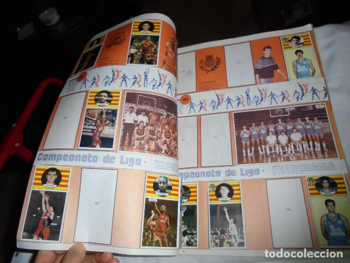 Coleccionismo deportivo: ALBUM CAMPEONATO DE LIGA BALONCESTO 1986-1987 INCOMPLETO FALTAN 112 DE 206 - Foto 5 - 136745494