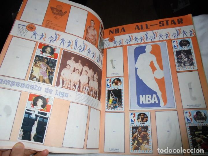 Coleccionismo deportivo: ALBUM CAMPEONATO DE LIGA BALONCESTO 1986-1987 INCOMPLETO FALTAN 112 DE 206 - Foto 6 - 136745494
