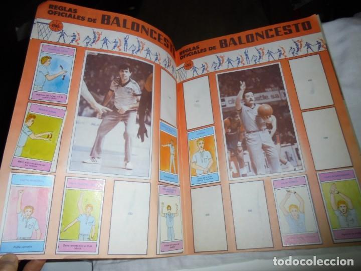 Coleccionismo deportivo: ALBUM CAMPEONATO DE LIGA BALONCESTO 1986-1987 INCOMPLETO FALTAN 112 DE 206 - Foto 7 - 136745494
