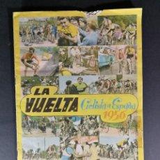 Coleccionismo deportivo: ALBUM DE CROMOS COMPLETO - LA VUELTA CICLISTA A ESPAÑA 1956. Lote 139163222