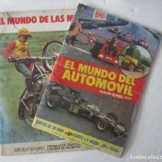 Coleccionismo deportivo: EL MUNDO DEL AUTOMOVIL Y EL MUNDO DE LAS MOTOS DE BIMBO. Lote 139431782