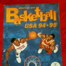 Coleccionismo deportivo: AMERICAN PRO BASKETBALL USA 94 95 (AÑO 1972) INCOMPLETO CON + 50% DE CROMOS - BASKET BALONCESTO NBA. Lote 139461386