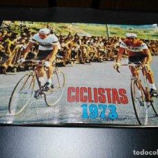 Coleccionismo deportivo: ANTIGUO ALBUM DE CROMOS CICLISTAS 1973 DE BEYMAT. Lote 139745014