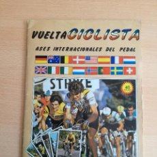 Coleccionismo deportivo: VUELTA CICLISTA ASES INTERNACIONALES DEL PEDAL, EDI. MERCHANTE 1983. LE FALTAN 6 CROMOS DE 219. Lote 140153626