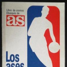 Coleccionismo deportivo: ALBUM LOS ASES DE LA NBA; DIARIO AS - COMPLETO. Lote 140340194