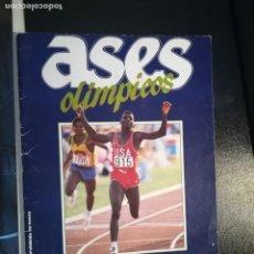 Coleccionismo deportivo: ASES OLIMPICOS COLECCION COMPLETA CONSTA 84 CROMOS DIARIO AS. Lote 140555474
