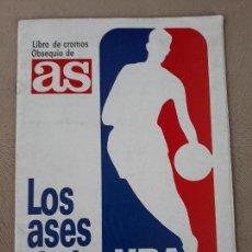 Coleccionismo deportivo: LOS ASES DE LA NBA AÑO 1989 COMPLETO MICHAEL JORDAN MAGIC JHONSON LARRY BIRD. Lote 141545766