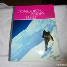 Coleccionismo deportivo: LA CONQUISTA DE LOS ANDES DEL PERU COMPLETO 1963.-NESTLE. Lote 144040302