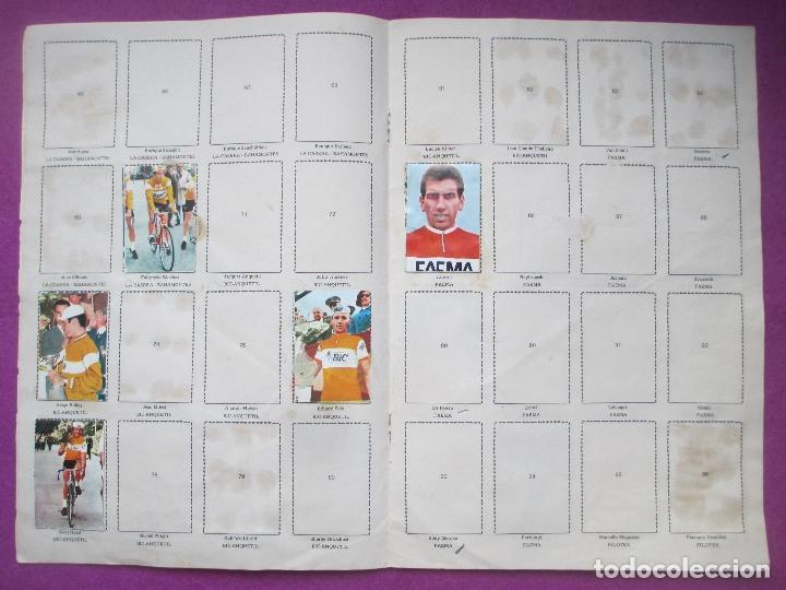 Coleccionismo deportivo: ALBUM CROMOS, CICLISTAS 1968, ED. LAIDA, TIENE 36 CROMOS PEGADOS Y 8 SUELTOS - Foto 5 - 144111134