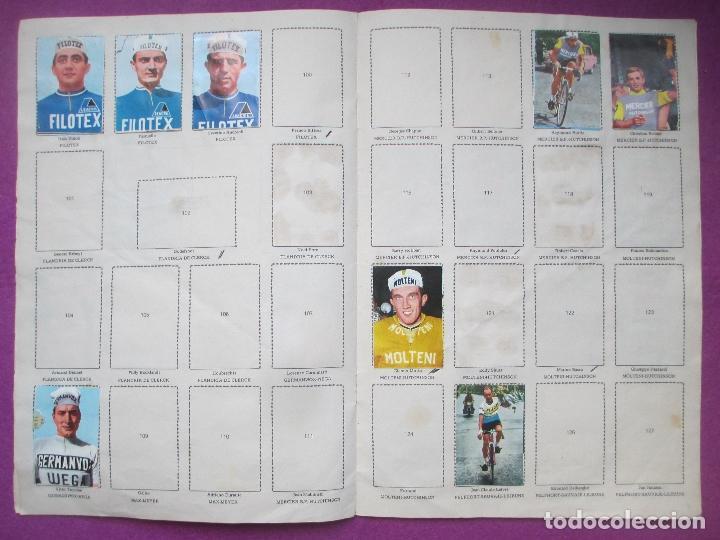 Coleccionismo deportivo: ALBUM CROMOS, CICLISTAS 1968, ED. LAIDA, TIENE 36 CROMOS PEGADOS Y 8 SUELTOS - Foto 6 - 144111134