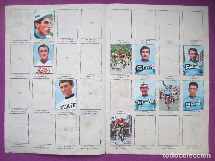 Coleccionismo deportivo: ALBUM CROMOS, CICLISTAS 1968, ED. LAIDA, TIENE 36 CROMOS PEGADOS Y 8 SUELTOS - Foto 7 - 144111134