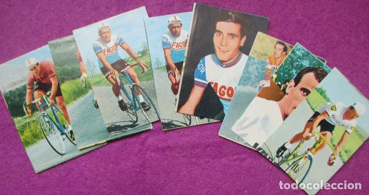 Coleccionismo deportivo: ALBUM CROMOS, CICLISTAS 1968, ED. LAIDA, TIENE 36 CROMOS PEGADOS Y 8 SUELTOS - Foto 10 - 144111134