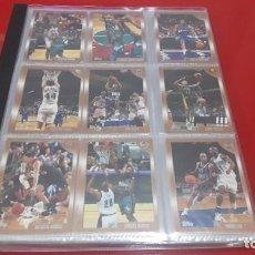 Coleccionismo deportivo: COLECCION COMPLETA BASICA CARDS NBA BASKETBALL 1998-1999 TOPPS. Lote 145281126
