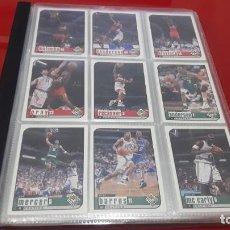 Coleccionismo deportivo: COLECCION CARDS NBA BASKETBALL 1998-1999 UPER DECK. Lote 145296686