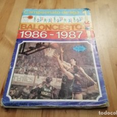 Coleccionismo deportivo: MERCHANTE BALONCESTO 1986 1987 ALBUM. Lote 146576822