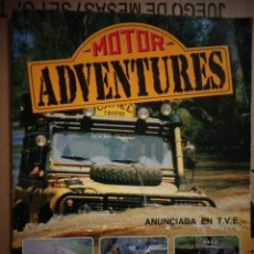 Coleccionismo deportivo: ALBUM COMPLETO MOTOR ADVENTURES PANINI 1987. Lote 146710202