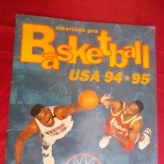 Coleccionismo deportivo: ALBUM DE CROMOS INCOMPLETO. AMERICAN PRO BASKETBALL USA 94-95. SOLO FALTA UN CROMO. Lote 146753586