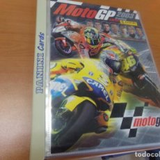 Coleccionismo deportivo: ALBUM ALCHIVADOR MOTO GP 2003 DE PANINI, COMPLETO Y NUEVO 190 CROMOS. Lote 146987318