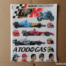 Coleccionismo deportivo: A TODO GAS 2005 ALBUM GP MARCA INFORMACION DE LA FORMULA 1 Y MOTOCICLISMO LE FALTAN SOLO 3 CROMOS. Lote 147614502