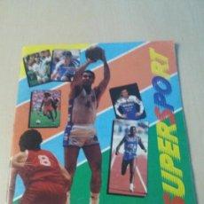 Coleccionismo deportivo: ALBUM CROMOS SUPERSPORT PANINI 1988 CON JORDAN . Lote 147676670