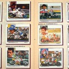 Coleccionismo deportivo: ALBUM 1987 MOTOS. PILOTOS, MARCAS Y MODELOS. MOTO MOTOR 16. FALTA UN CROMO. VER FOTOS. Lote 147904926