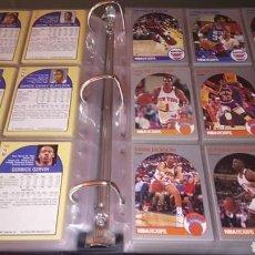Coleccionismo deportivo: NBA HOOPS 1990 COLECCIÓN COMPLETA MARK JACKSON. Lote 148246034