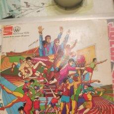 Coleccionismo deportivo: ÁLBUM DE CHAPAS COCA-COLA MONTREAL 1976. Lote 148339770
