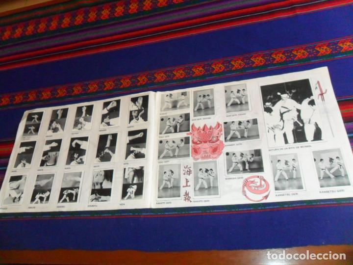 Coleccionismo deportivo: KARATE TÉCNICA Y COMPETICIÓN COMPLETO 158 CROMOS. EDICIONES ARA 1980. BUEN ESTADO Y RARO. - Foto 3 - 148771794