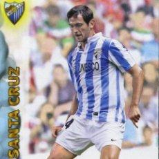 Coleccionismo deportivo: LIGA BBVA OFFICIAL QUIZ GAME COLLECTION 2013 Nº 672 - SANTA CRUZ - MALAGA C. F.. Lote 151219910