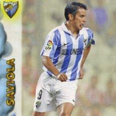 Coleccionismo deportivo: LIGA BBVA OFFICIAL QUIZ GAME COLLECTION 2013 Nº 673 SAVIOLA - MALAGA C. F. Lote 151220022