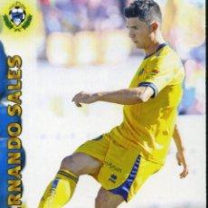 Coleccionismo deportivo: LIGA BBVA OFFICIAL QUIZ GAME COLLECTION 2013 Nº 777 FERNANDO SALES - ALCORCÓN. Lote 151224162