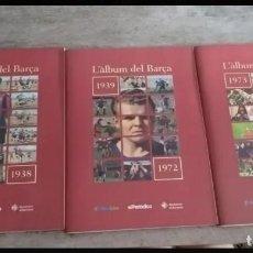 Coleccionismo deportivo: ELS ALBUMS DEL BARÇA 1899-1999. Lote 152176278
