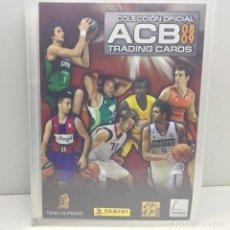 Coleccionismo deportivo: COLECCIÓN OFICIAL ACB 08-09 - COMPLETA - 360 CROMOS - PANINI. Lote 152777866