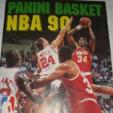 Coleccionismo deportivo: ALBUN DE BALONCESTO NBA 90, FALTAN MUY POCOS CROMOS.. Lote 206350582