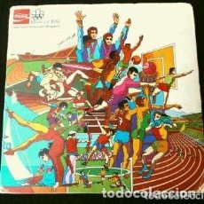 Coleccionismo deportivo: MONTREAL 1976 - HISTORIA DE LOS JUEGOS OLIMPICOS - ALBUM COMPLETO 84 CHAPAS TRANSPARENCIAS COCA COLA. Lote 154435250