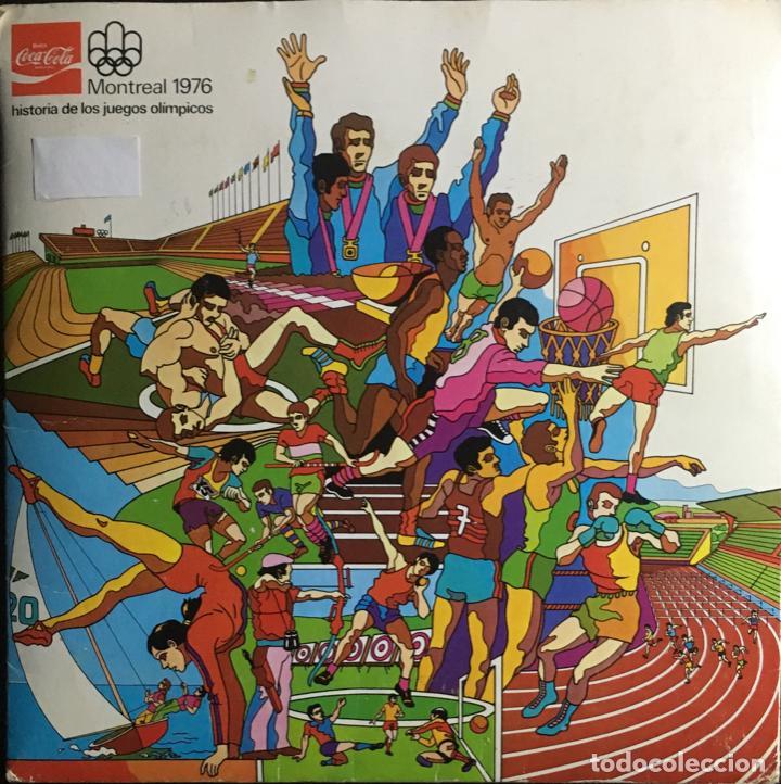 ALBUM COMPLETO (84 TRANSPARENCIAS) COCA COLA J.J.O.O. MONTREAL 1976 HISTORIA DE LOS JUEGOS OLÍMPICOS (Coleccionismo Deportivo - Álbumes otros Deportes)