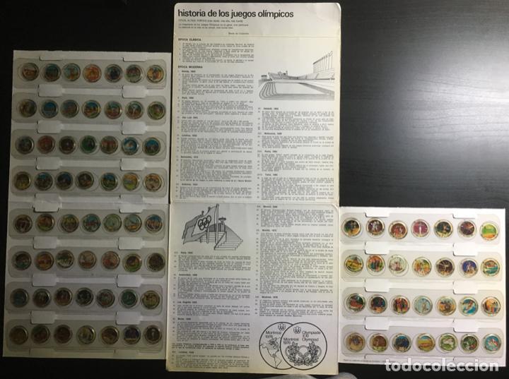 Coleccionismo deportivo: Album completo (84 transparencias) Coca Cola J.J.O.O. Montreal 1976 Historia de los Juegos Olímpicos - Foto 4 - 154788182