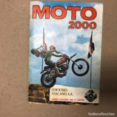 Coleccionismo deportivo: MOTO 2000. ÁLBUM DE CROMOS EDICIONES VULCANO (1973), CON 184 DE 200 CROMOS. MUY BUEN ESTADO.. Lote 155095058