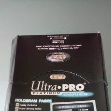Coleccionismo deportivo: HOJAS ULTRA PRO, PARA TUS COLECCIONES DE TRADING CARDS. Lote 155263344