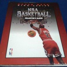 Coleccionismo deportivo: ALBUM UPPER DECK HIGH SERIES NBA 1992 / 93 BASKETBALL COLLECTOR´S ALBUM CON 156 FICHAS NUEVAS VER . Lote 155474958