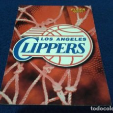 Coleccionismo deportivo: CROMO NBA FLEER 96 - 97 LOGO ( LOS ANGELES CLIPPERS Nº 162 ) 1996 FLEER/SKYBOX INT´L PRINTED IN USA. Lote 156750430