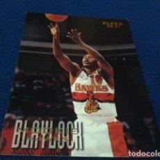 Coleccionismo deportivo: CROMO NBA FLEER 96 - 97 ATLANTA HAWKS (BLAYLOCK MOOKIE Nº 2 )1996 FLEER/SKYBOX INT´L PRINTED IN USA. Lote 156751666