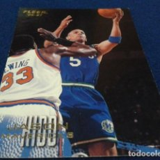 Coleccionismo deportivo: CROMO NBA FLEER 96 - 97 MAVERICKS ( JASON KIDD Nº 22 )1996 FLEER/SKYBOX INT´L PRINTED IN USA. Lote 156755202