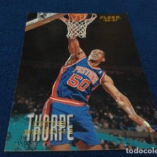 Coleccionismo deportivo: CROMO NBA FLEER 96 - 97 PISTONS ( OTIS THORPE Nº 34 ) 1996 FLEER/SKYBOX INT´L PRINTED IN USA. Lote 156757078