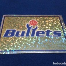 Coleccionismo deportivo: CROMO PANINI NBA BASKETBALL 95 - 96 ( ESCUDO - LOGO ) Nº 60 WASHINGTON BULLETS NUEVO NUNCA PEGADO. Lote 156762838