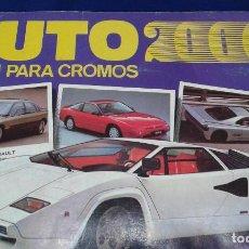 Coleccionismo deportivo: ALBUM CROMOS AUTO 2000. Lote 158233586