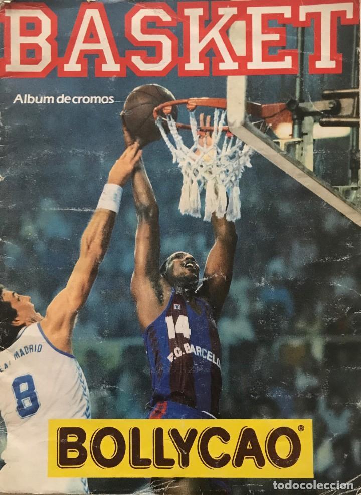 1989 ÁLBUM DE CROMOS DE BALONCESTO. CONTIENE 40 DE 149 CROMOS. BASKET ACB. BOLLYCAO 23X31 CM (Coleccionismo Deportivo - Álbumes otros Deportes)